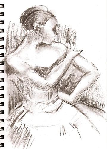Dancer, Degas