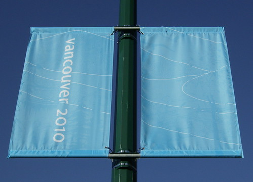 2010 VANCOUVER WINTER OLYMPICS | THE LOOK OF THE CITY :: CAMBIE HERITAGE BOULEVARD BANNERS 6