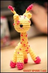 Baby Amigurumi Giraffe by CrazySporkIAm
