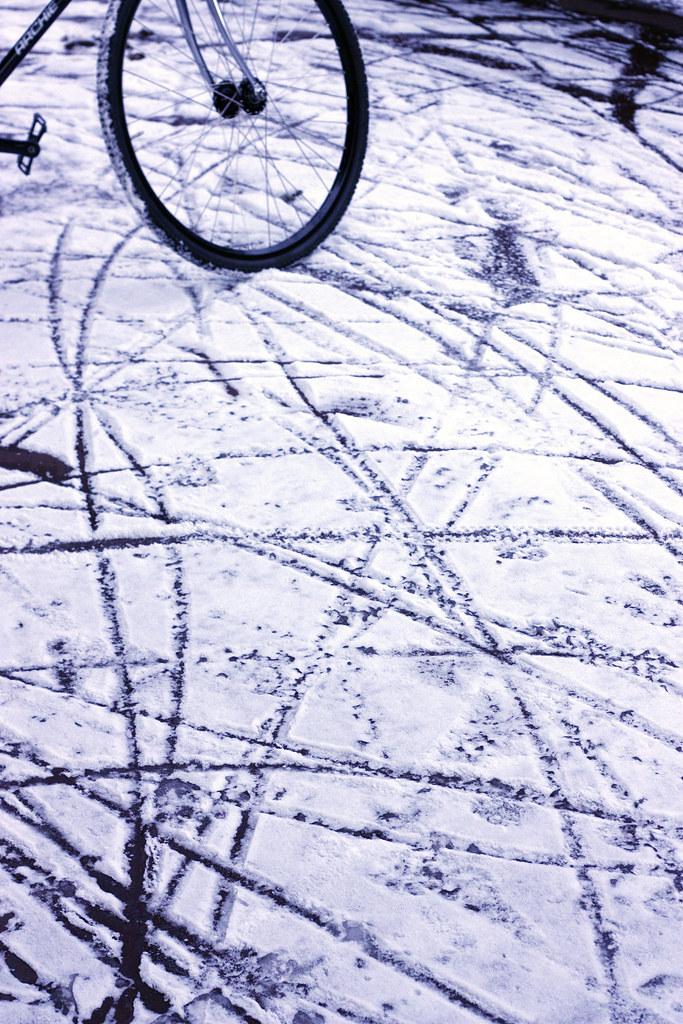 Snowy court