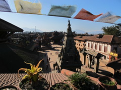 Bhaktapur - view from guesthouse