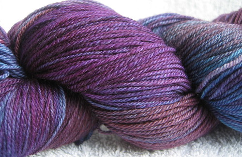 Malabrigo Abril, close up