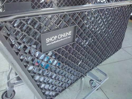 Dear Shopping Cart, Don't you know if people shop online then you're out of a job? Luv, Christy