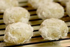 lemon coconut snowballs