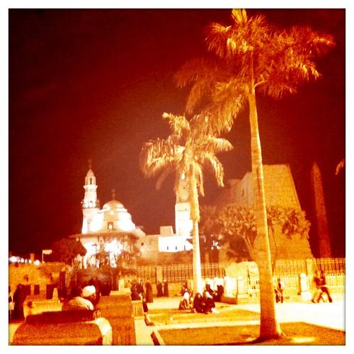 路克索神殿前廣場