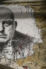 Aleister Crowley painted portrait _DDC7639