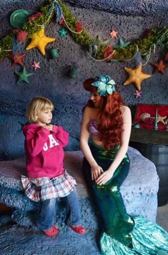 Jessica meets Ariel in person