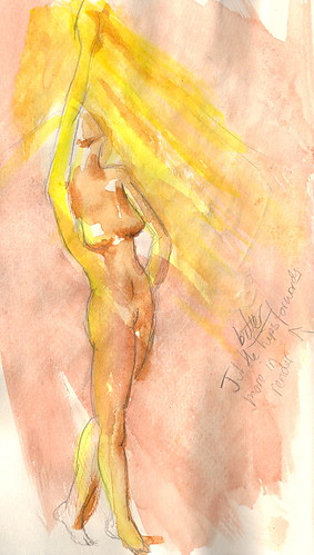 Burlesque Sketch 08