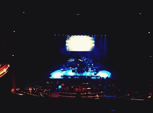 Stage, pre-Coco show