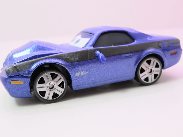 disney cars 2 movie doubles damaged rod torque redline grem 1 (5)