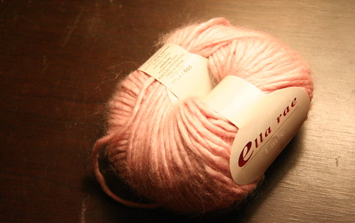 Guilty of buying yet more yarn, it was a kid request. Yeah, yeah it is pink, but it is also Milk/Alpaca yarn and is glorious to the touch.