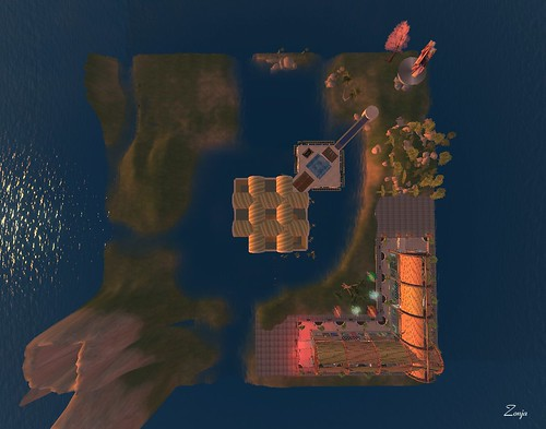 0699 - Condensation Land after deleting all objects with x less than 129