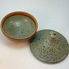 Lidded bowl. Inside view