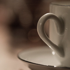 Coffee cup on christmas eve :-)