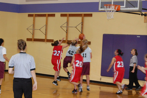 Mal's basketball game against the Rockets