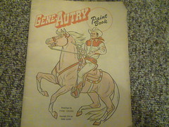 gene autry paint book