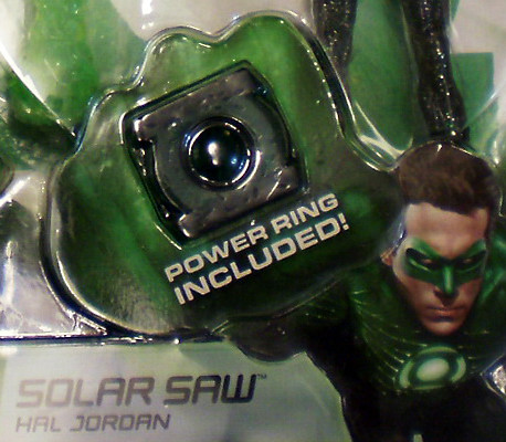 Green Lantern - Power Ring Included OH YEAH