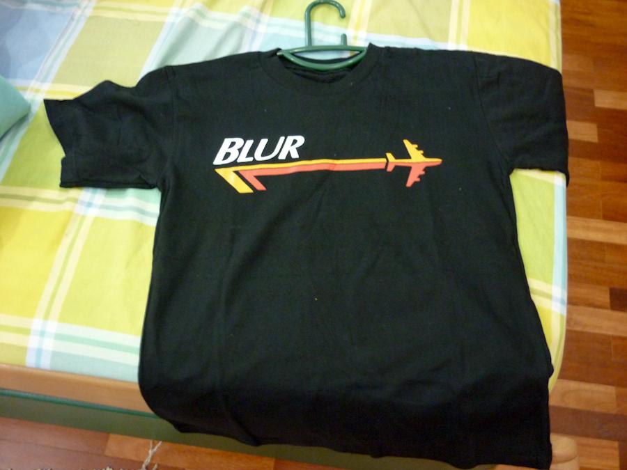 blur's shirt