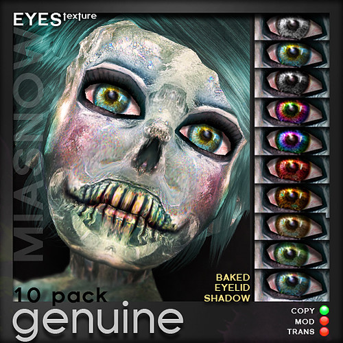MIASNOW Eyes - GENUINE 10 pack