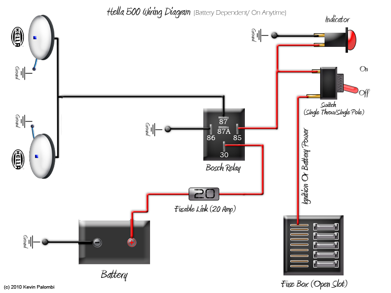 Kc Light Wiring Diagram How To Wire Kc Daylighters Wiring Diagrams