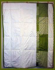 quilt back unfinished