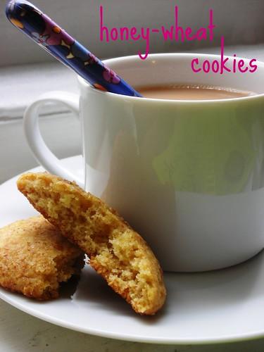 honey-wheat cookies