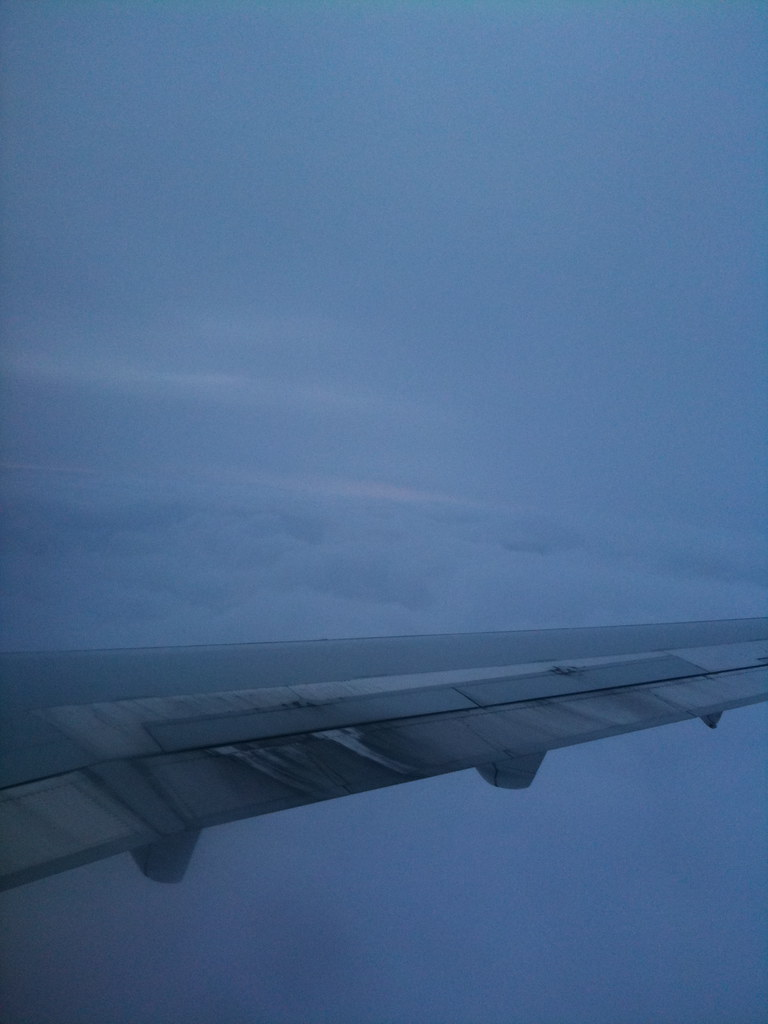 cloudy flight