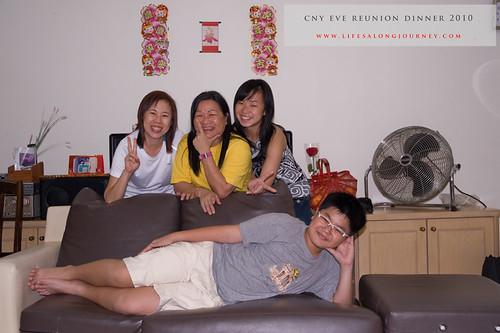 CNY Reunion Dinner 2010 #13