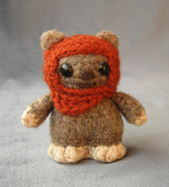 Star Wars Mini Amigurumi - Ewok