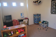 now his room is a playroom