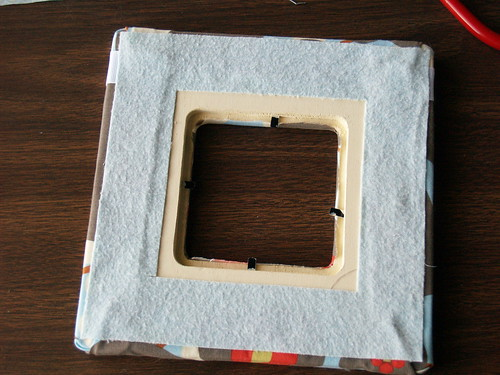 Fabric Covered Frame Step 6