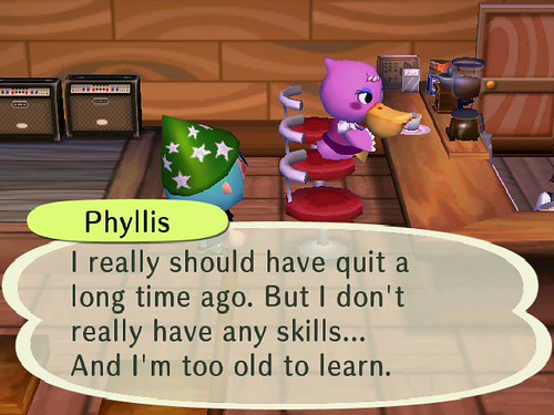 Phyllis is Depressing