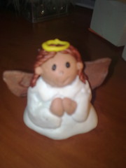 Skye's fimo angel