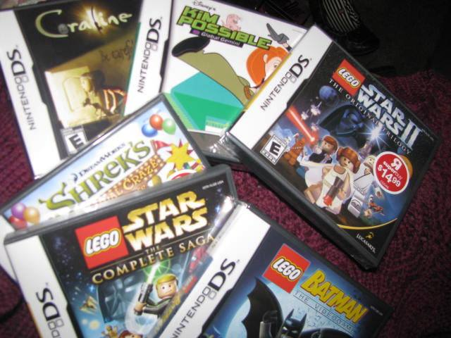 Loads of DS Games for DS and DD#2