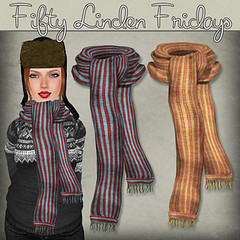 50L Friday - Week 15 - Artilleri - Taylor Scarves Red-Aqua and Peach-Yellow