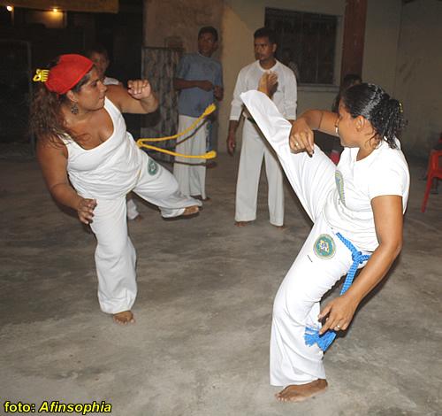 Capoeira Bantos 12 por você.