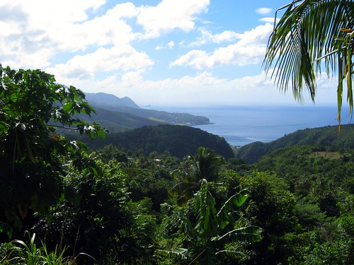 the caribbean side of dominica