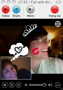 Love at first Skype.