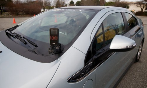 Chevy Volt Prototype Electric Vehicle