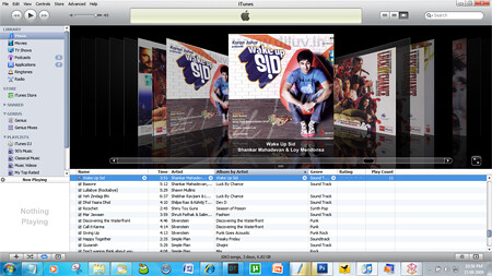 itunes 9 music library