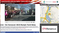 Live Webcam @ Vancouver 2010 Olympic Torch Relay - Pix 3 (Rodney Helpard)