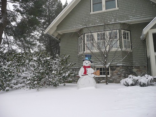 Frosty the Two-Dimensional Snowman