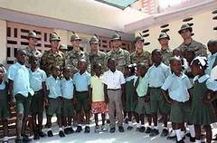 Haiti: ricostruita la scuola delle