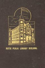 Catalogue of Books in the Butte Free Public Li...