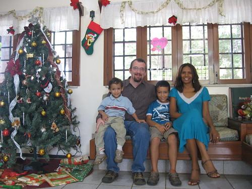 A Família Comings, Natal, 2009