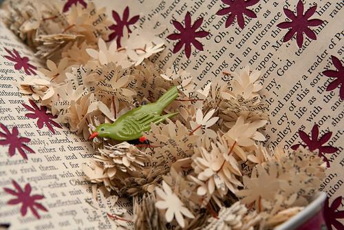 Altered Book: Garden of Delights