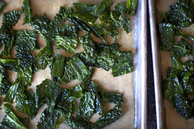 kale, ready to bake into chips. really.