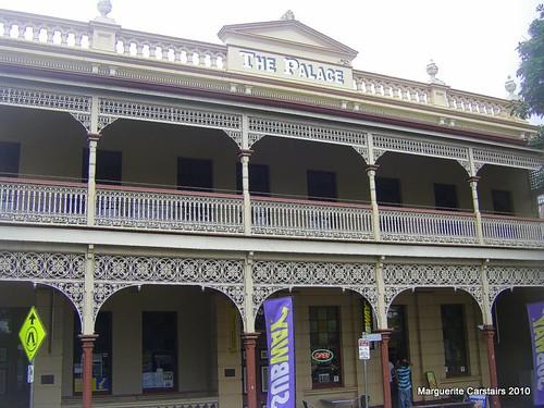 Lace verandah of the Childers Art Gallery
