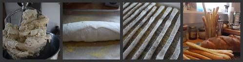 Italian Bread Collage