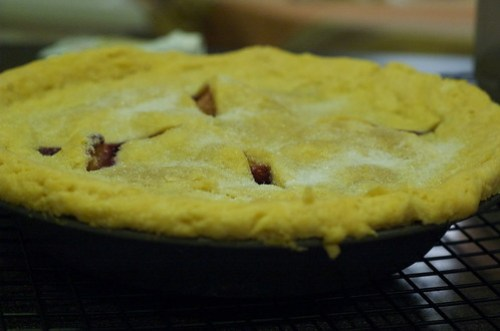 Home made pie